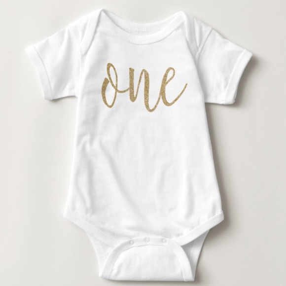 ab3756f1e Little Ham Collection One Pieces | Baby Girl Gold One Onesie | Poshmark